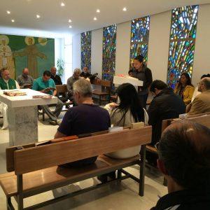 Missa na Editora Ave-Maria em intenção a todos os assinantes