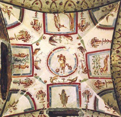 teto-de-cubiculo-do-cemiterio-maior-roma-320-340