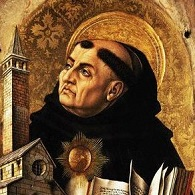 1476 --- St. Thomas Aquinas from  by Carlo Crivelli --- Image by © National Gallery Collection; By kind permission of the Trustees of the National Gallery, London/CORBIS