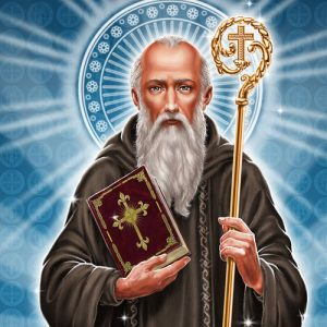 São Bento - abade, padroeiro da Europa (470-547)